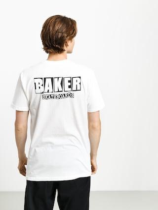 T-shirt Baker Brand Logo Dubs (white)