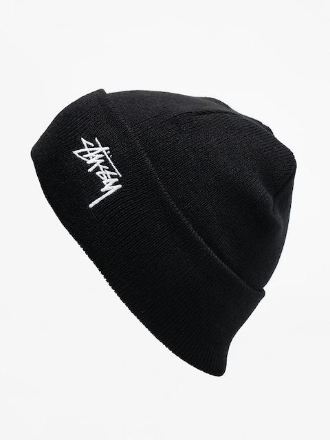 Czapka zimowa Stussy Stock Cuff (black)