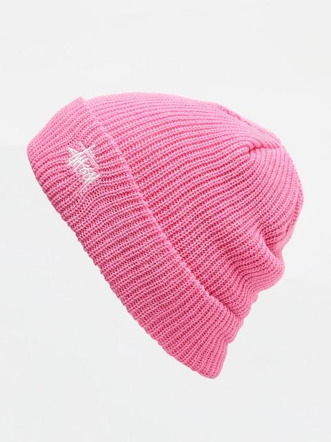 Czapka zimowa Stussy Basic Cuff (pink)