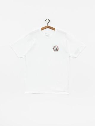 T-shirt Brixton Rival II Stnd (white/cardinal)