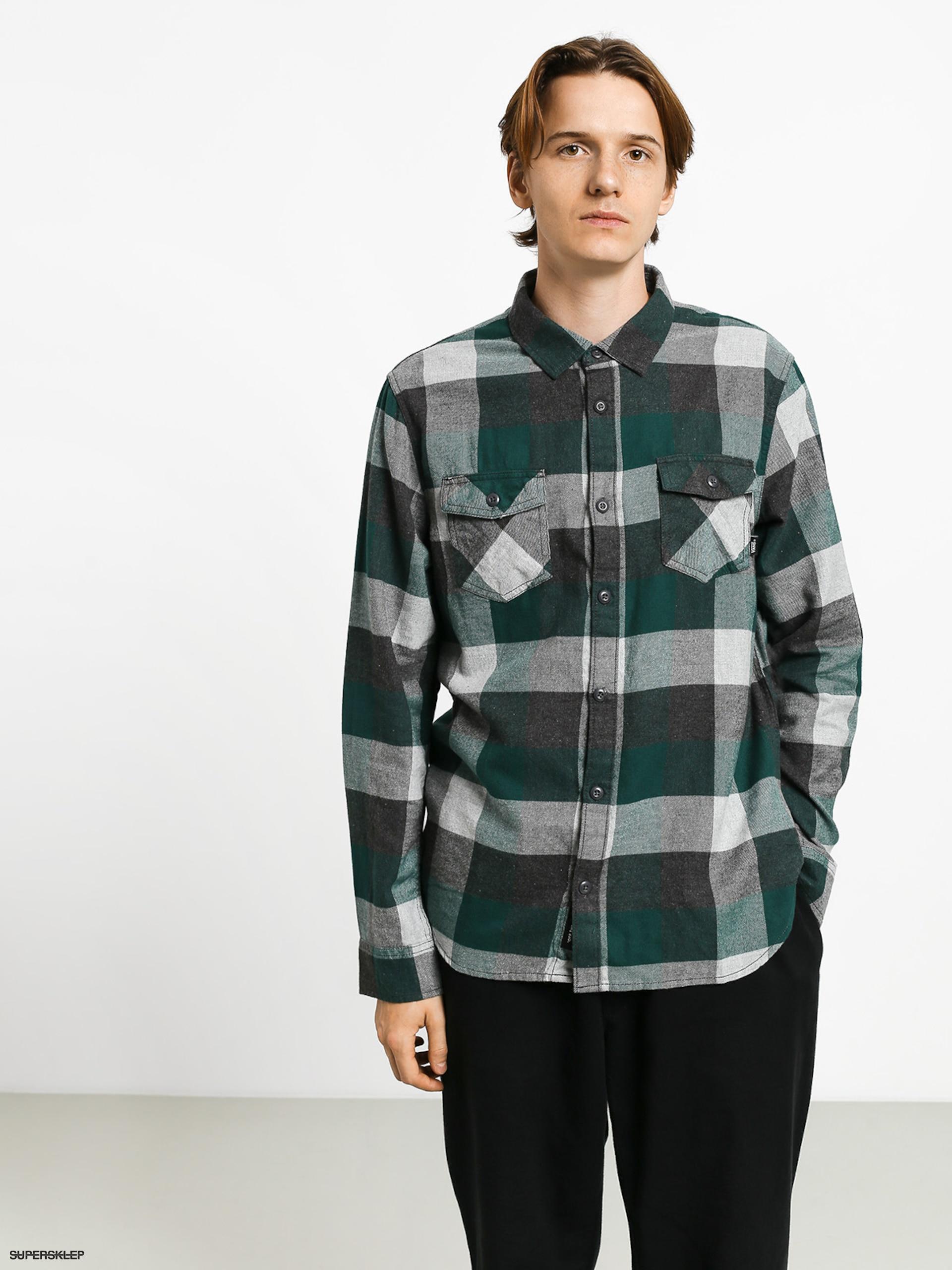 Koszula Vans Box Flannel (trekking greengrey heather)
