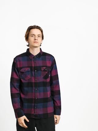 Koszula Vans Box Flannel (prune/dress blues)