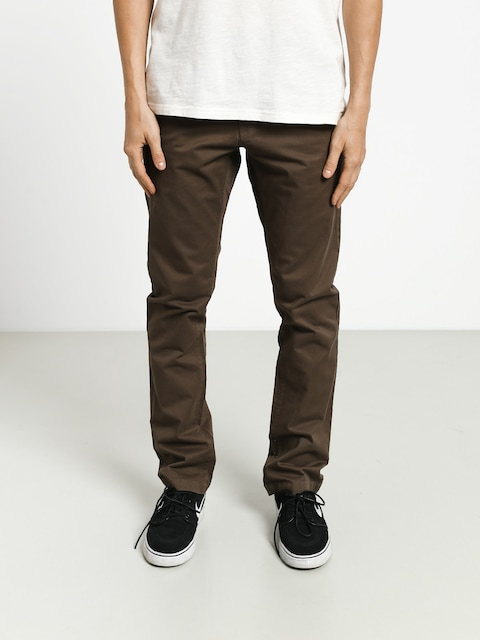 Spodnie Volcom Frickin Slim Chino (major brown)