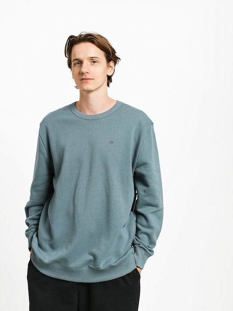 Bluza Brixton B Shield Crew (blue haze)