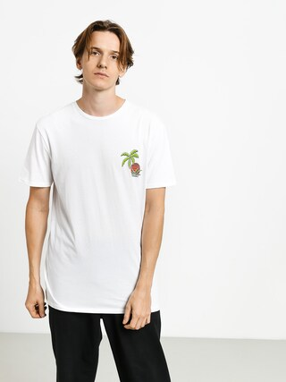 T-shirt Quiksilver In The Jungle (white)