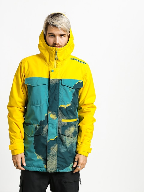 Kurtka snowboardowa Burton Covert (92air/maize)