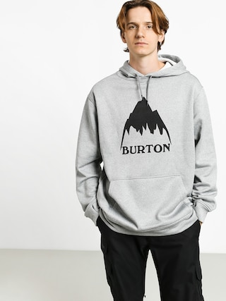 Bluza z kapturem Burton Oak HD (mtn gray heather)