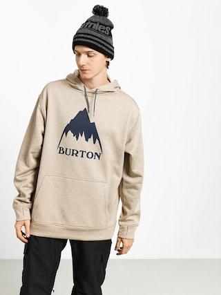 Bluza z kapturem Burton Oak HD (plaza taupe heather)