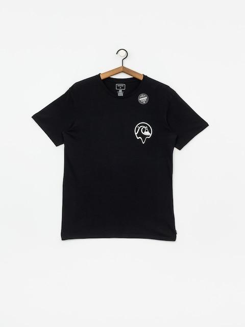 T-shirt Quiksilver Dead Island (black)