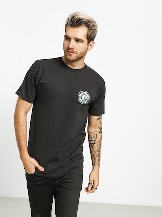 T-shirt Brixton Rival II Stnd (washed black/emerald)