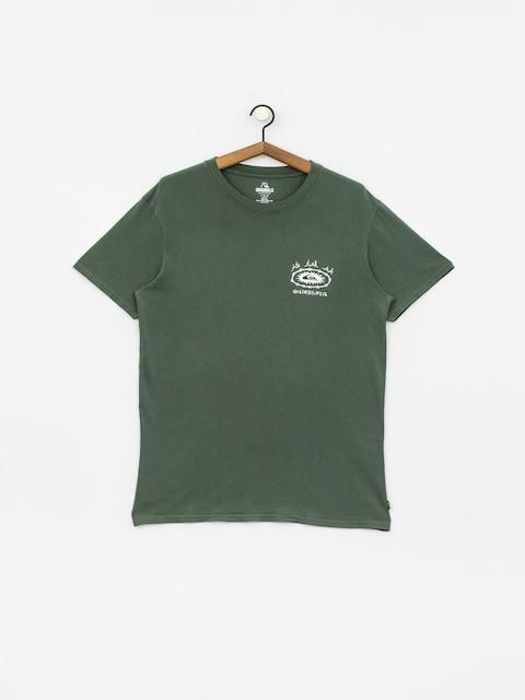 T-shirt Quiksilver Og Bone Ring (garden topiary)