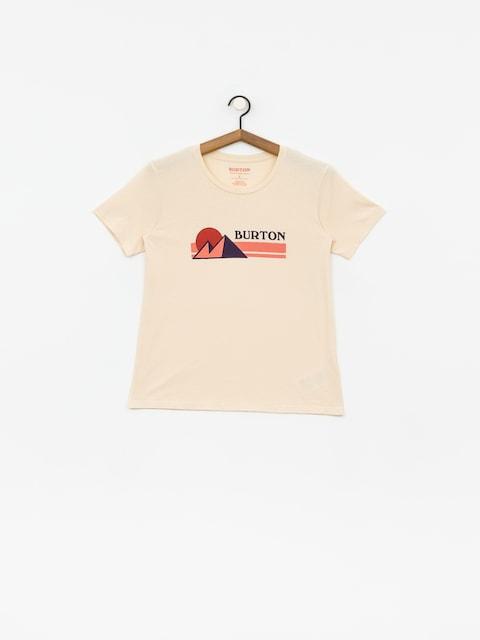 T-shirt Burton Ashmore Wmn (creme brulee)
