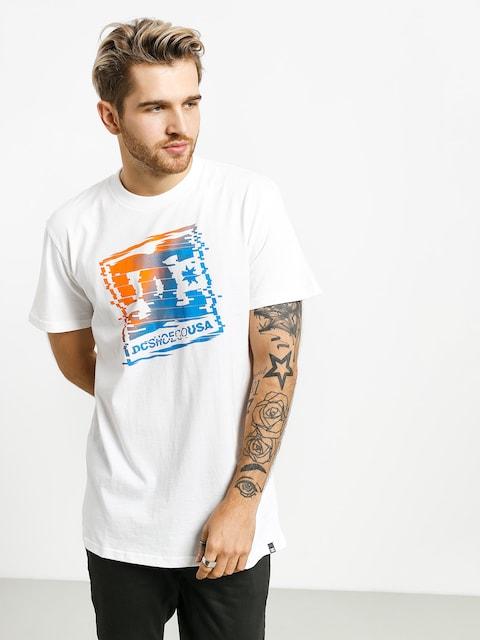 T-shirt DC Tv Glitch