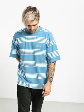 T-shirt Polar Skate Striped Surf (blue)