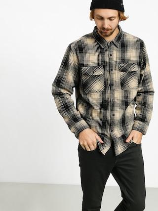Koszula Brixton Bowery Flannel Ls (black/bone)