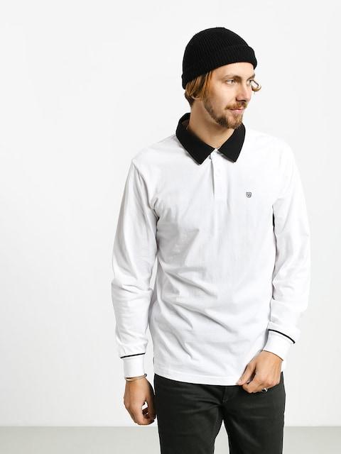Longsleeve Brixton Carlos Polo (white/black)