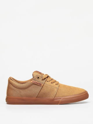 Buty Supra Stacks Vulc II (tan/brown lt gum)