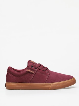 Buty Supra Stacks Vulc II (wine/tan lt gum)