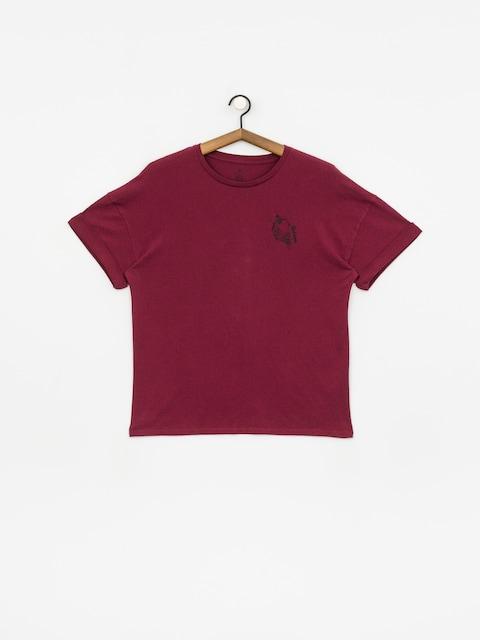 T-shirt Volcom Stone Splif Wmn (zinfandel)