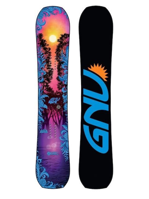 Deska snowboardowa Gnu B Pro C3 Wmn (multi)