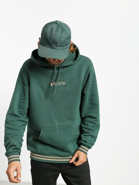 Bluza z kapturem Brixton Stowell IV Intl HD (emerald)