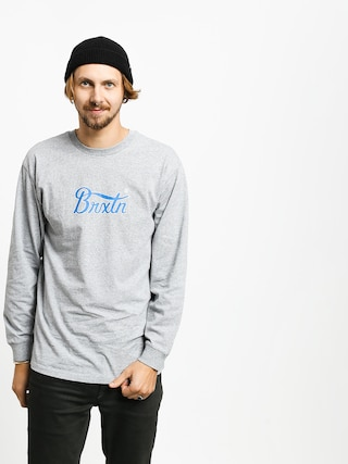 Longsleeve Brixton Stith VI Stt (heather grey)