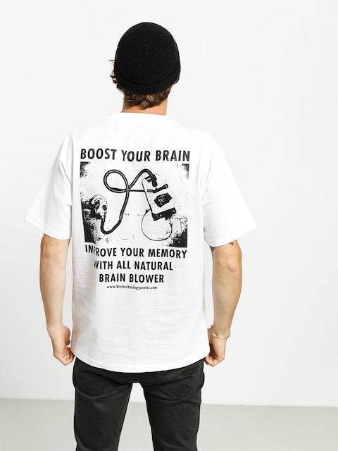 T-shirt Polar Skate Brain Blower (white)