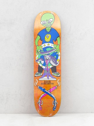 Deck Polar Skate Herrington Global Affairs (orange)