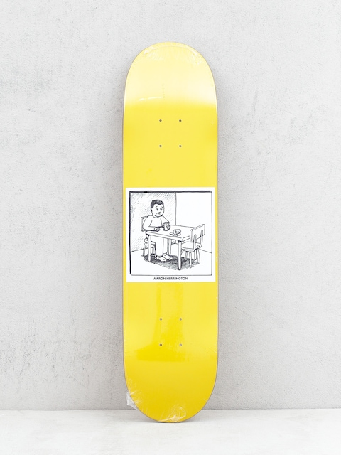 Deck Polar Skate Spilled Milk (yellow)