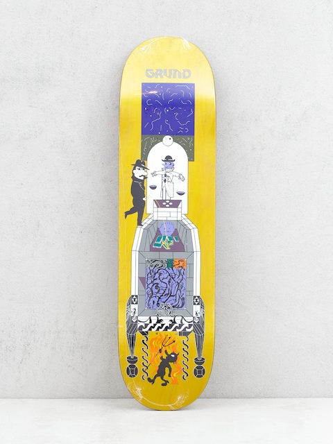 Deck Polar Skate Paul Grund Legacy (yellow)