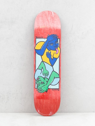 Deck Polar Skate Boserio Double Head (red)