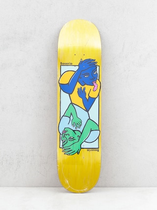 Deck Polar Skate Boserio Double Head (yellow)