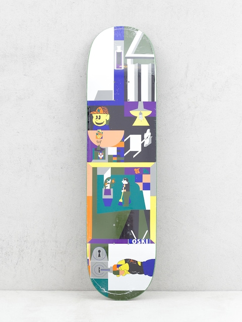 Deck Polar Skate Rozenberg Key (multi)