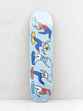 Deck Polar Skate Team Style Is Forever (blue)