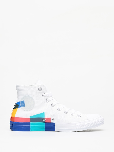 Trampki Converse Chuck Taylor All Star Hi Space Racer (white/blue/enamel red)