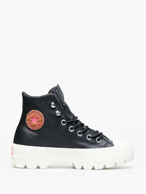 Buty Converse Chuck Taylor All Star Hi Lugged Winter Wmn (black/mod pink)
