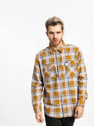 Koszula Brixton Bowery Lw Flannel Ls (aluminum/maize)