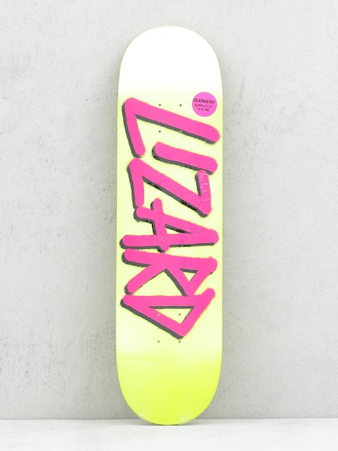 Deck Deathwish Lizard Gang Name (yellow/purple)