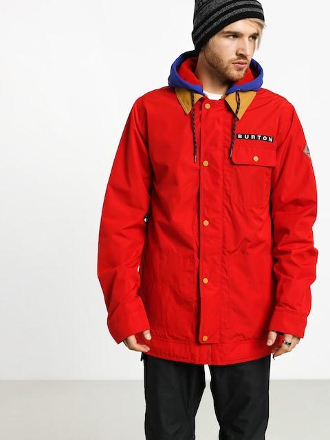 Kurtka snowboardowa Burton Dunmore (flame scarlet)