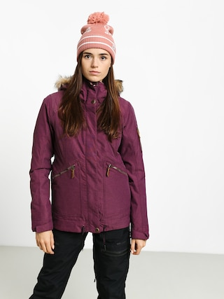 Kurtka snowboardowa Roxy Meade Wmn (grape wine)
