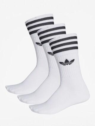 Skarpetki adidas Solid Crew (white/black)