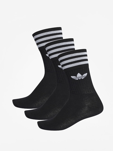 Skarpetki adidas Solid Crew (black/white)
