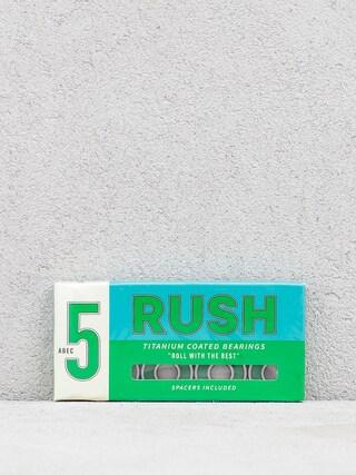 Łożyska Rush Bearings Spacers Abec 5 (green)