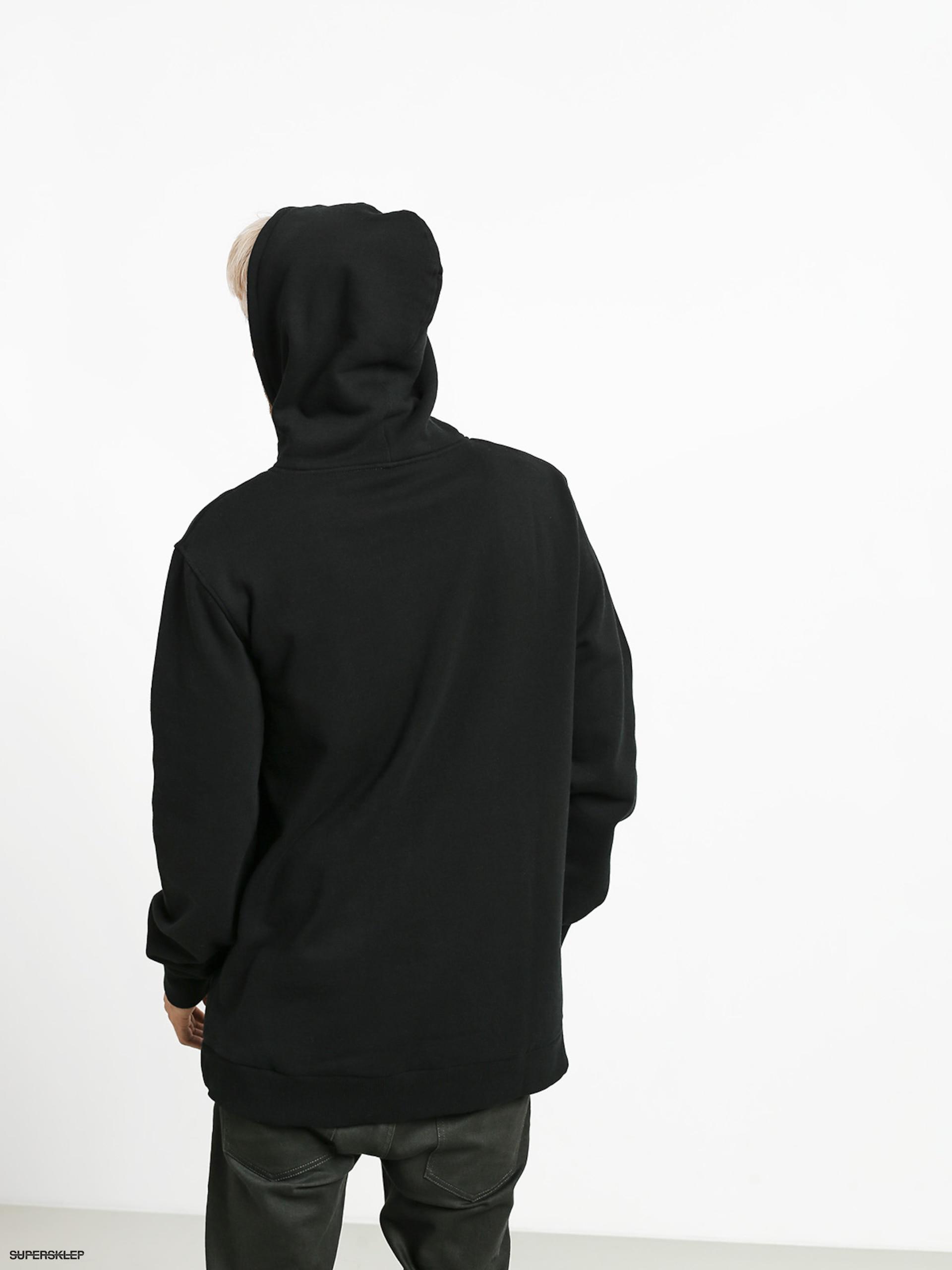 cum să cumpere pentru întreaga familie frumos ieftin Bluza z kapturem Supra Above HD (black/hi vis)