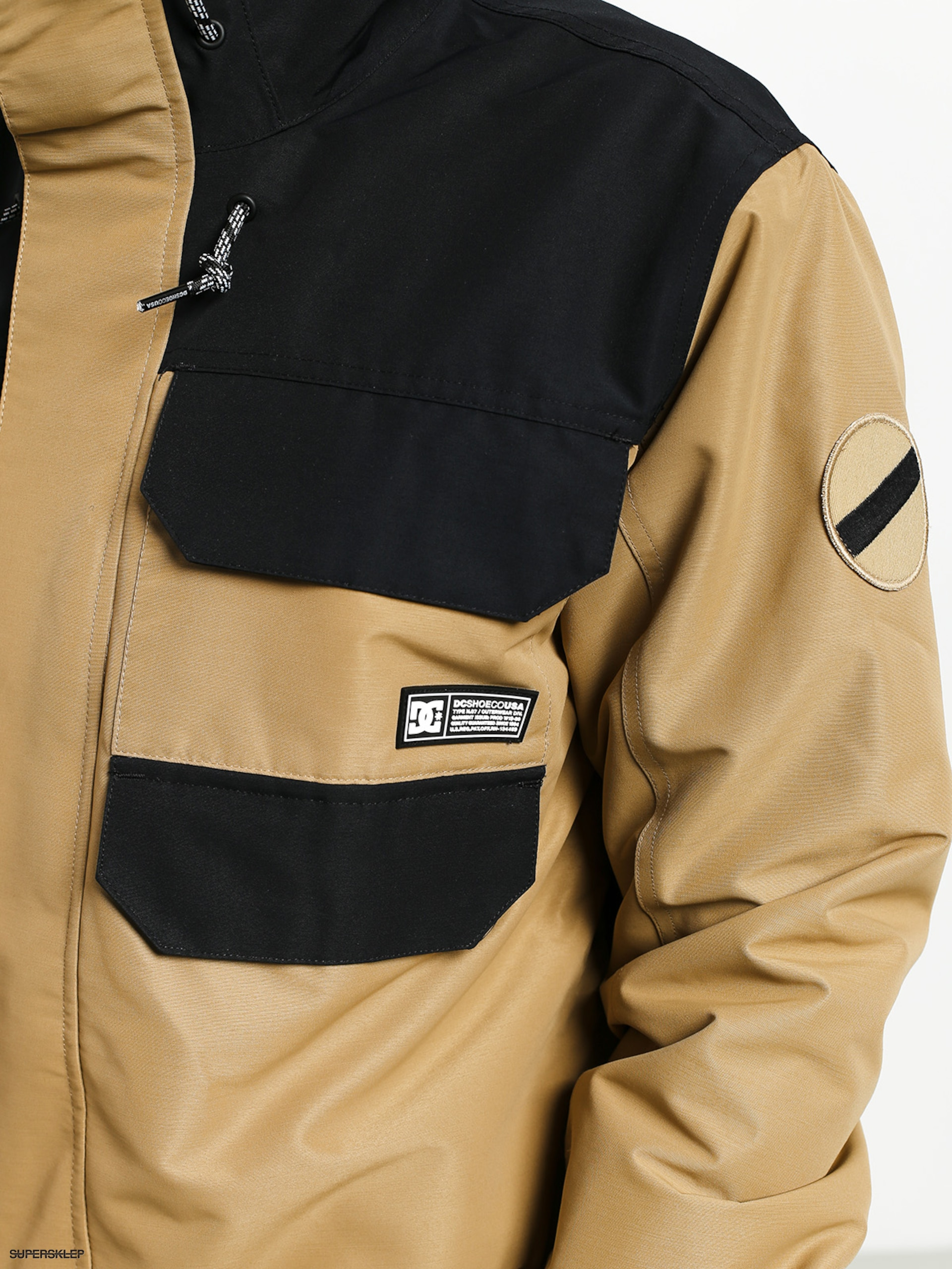 dc kurtki snowboardowe męskie