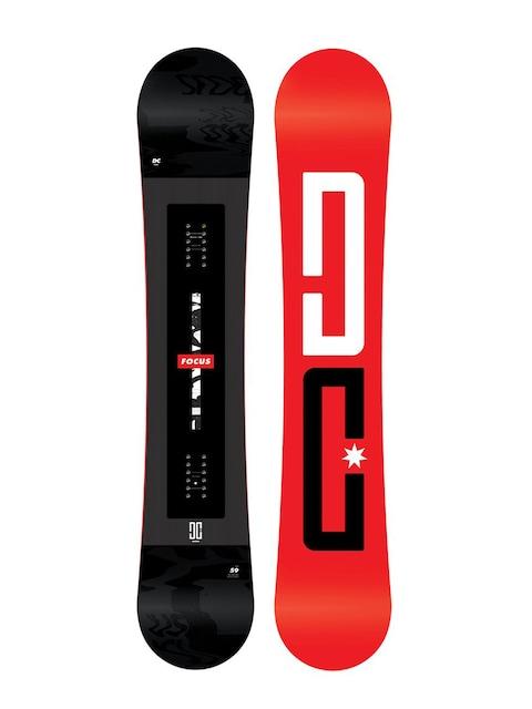 Deska snowboardowa DC Focus (red/black)