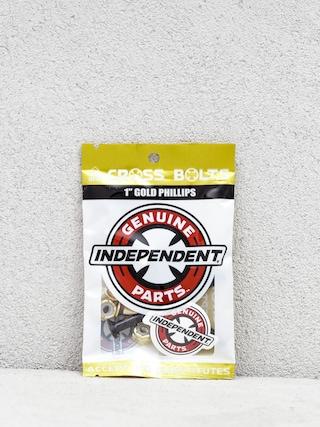 Montażówki Independent Gold Phillips (black/gold)