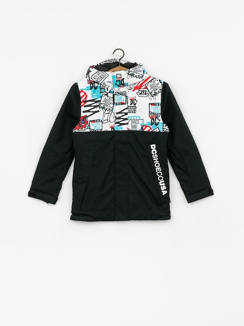Kurtka snowboardowa DC Defy Yth (yth mini ply print)