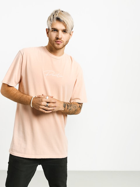 T-shirt Primitive Wave Pigment Dyed (peach)