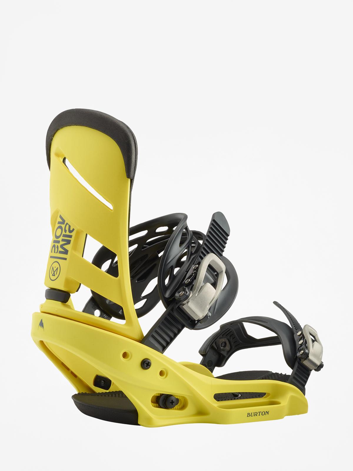 Wiu0105zania snowboardowe Burton Mission Est (grellow)